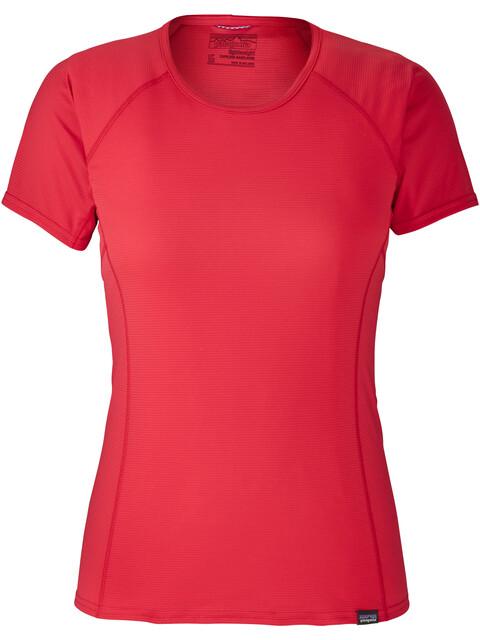 Patagonia W's Capilene Lightweight T-Shirt Maraschino